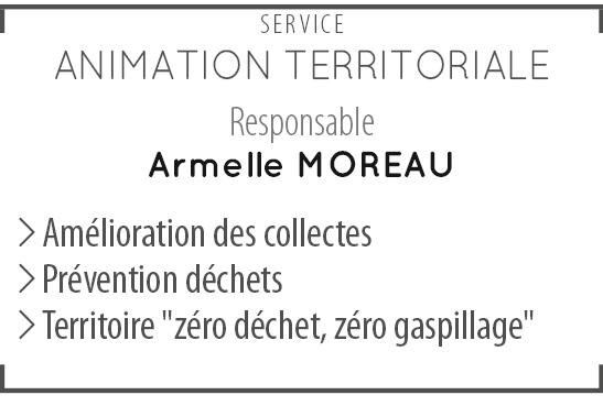Service animation territoriale