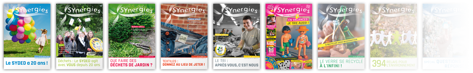 Couvertures des SYnergies