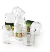 Bocaux et pots en verre au récup'verre
