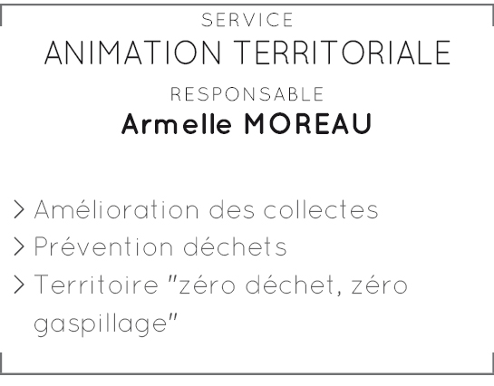 Service animation territoriale